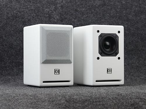音箱3寸喷漆白色音箱Pro