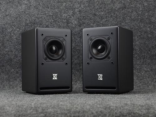 音箱3寸喷漆黑色音箱Pro