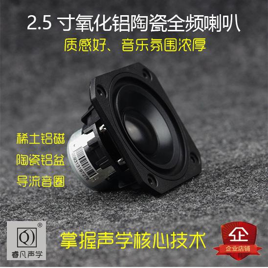 2.5寸强磁全频